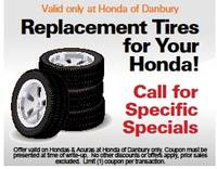 Replacement Tires for Your Honda! - 45618