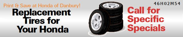 Replacement Tires for Your Honda!