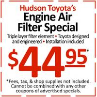 Engine Air Filter Special - 39809