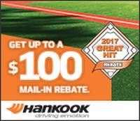 Get up to $100 Rebate