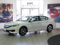 2017 Accord LX CVT Sedan - Refreshed Design / Refreshing Lease Deal