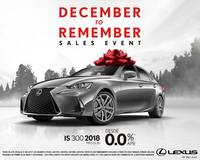 DECEMBER TO REMEMBER Sales Event