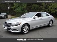 2017 S 550 4MATIC Sedan Lease Special