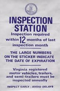 No Charge Virginia State Inspections